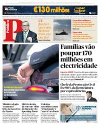 capa Público de 14 setembro 2017
