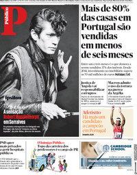 capa Público de 14 setembro 2018