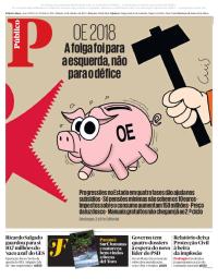 capa Público de 14 outubro 2017