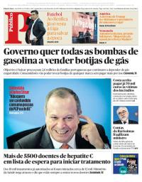 capa Público de 14 dezembro 2017