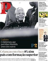 capa Público de 15 julho 2018