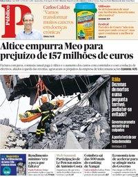 capa Público de 15 agosto 2018