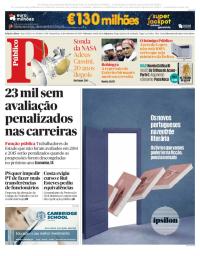 capa Público de 15 setembro 2017