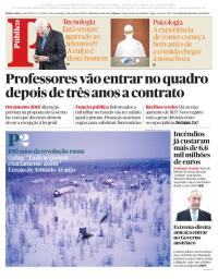 capa Público de 15 outubro 2017