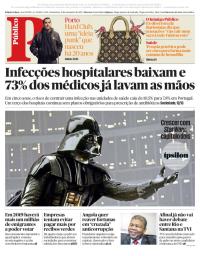 capa Público de 15 dezembro 2017