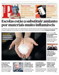 capa Público de 16 janeiro 2018
