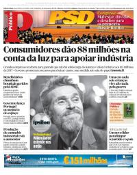 capa Público de 16 fevereiro 2018