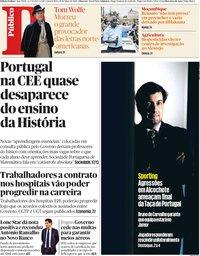 capa Público de 16 maio 2018