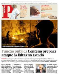capa Público de 16 outubro 2017