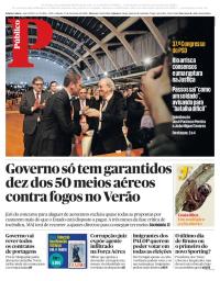 capa Público de 17 fevereiro 2018