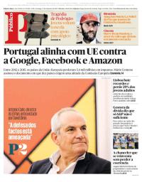 capa Público de 17 setembro 2017