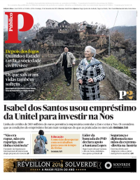 capa Público de 17 dezembro 2017