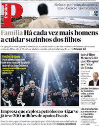 capa Público de 18 março 2018