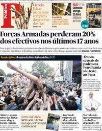 capa Público de 18 agosto 2018
