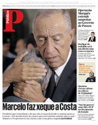 capa Público de 18 outubro 2017