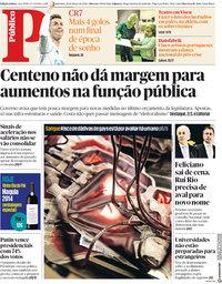 capa Público de 19 março 2018