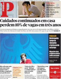 capa Público de 19 junho 2018