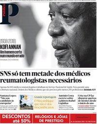 capa Público de 19 agosto 2018