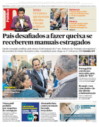 capa Público de 19 setembro 2017