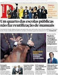 capa Público de 19 setembro 2018