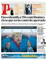 capa Público de 20 fevereiro 2018