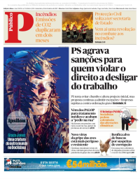 capa Público de 20 outubro 2017