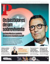 capa Público de 20 dezembro 2017