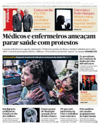 capa Público de 21 fevereiro 2018