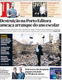capa Público de 21 março 2018