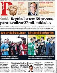 capa Público de 21 maio 2018