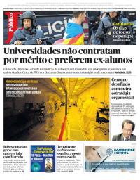 capa Público de 21 setembro 2017
