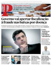capa Público de 21 outubro 2017
