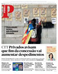 capa Público de 21 dezembro 2017