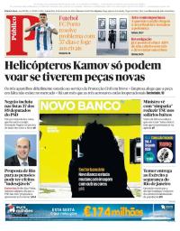 capa Público de 22 fevereiro 2018