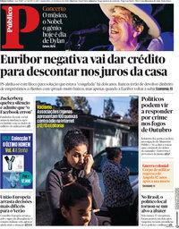 capa Público de 22 março 2018