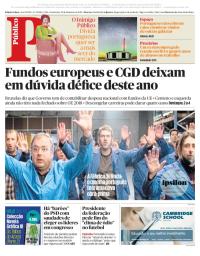 capa Público de 22 setembro 2017