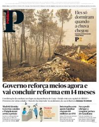 capa Público de 22 outubro 2017