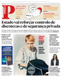 capa Público de 22 dezembro 2017