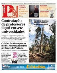 capa Público de 23 fevereiro 2018