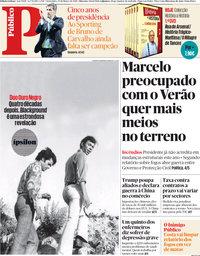 capa Público de 23 março 2018