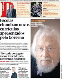 capa Público de 23 maio 2018