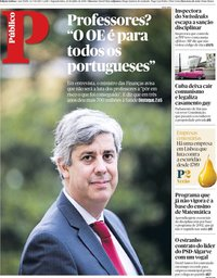 capa Público de 23 julho 2018