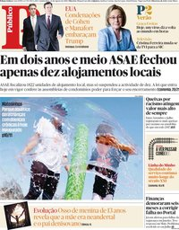 capa Público de 23 agosto 2018