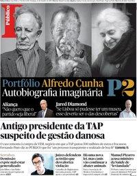 capa Público de 23 setembro 2018