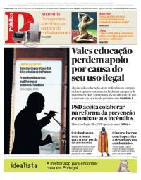 capa Público de 23 outubro 2017
