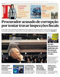 capa Público de 24 fevereiro 2018