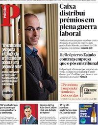 capa Público de 24 agosto 2018