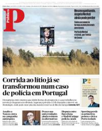 capa Público de 24 setembro 2017