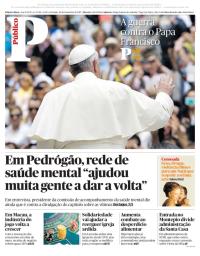 capa Público de 24 dezembro 2017