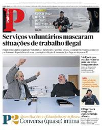 capa Público de 25 fevereiro 2018
